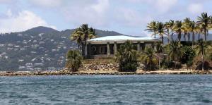 Así es la isla de Jeffrey Epstein en el Caribe