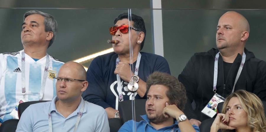 El exfutbolista Diego Maradona (horizontal-x3)