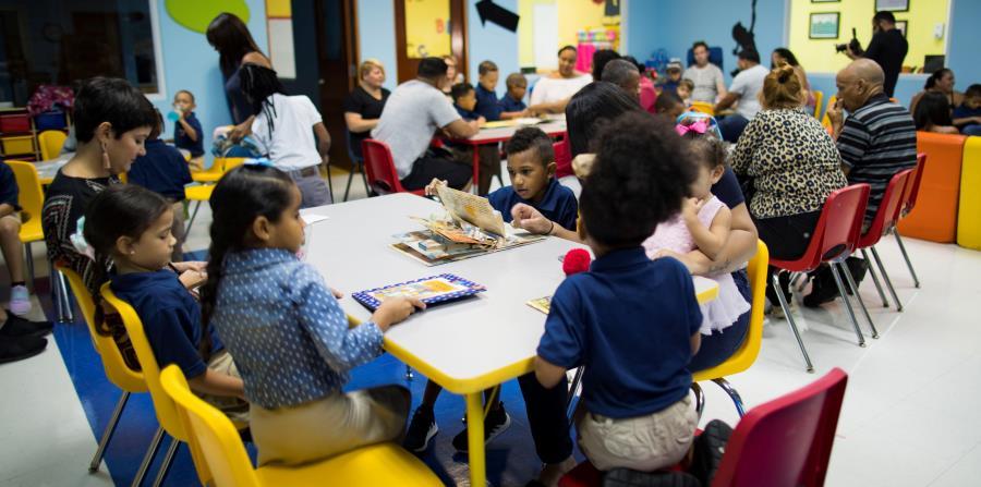 Integrar las familias de los estudiantes de la escuela charter es parte central de la misión del proyecto Vimenti. (horizontal-x3)