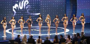 Así fue el desfile en traje de baño de las 16 semifinalistas de Miss Universe Puerto Rico 2019