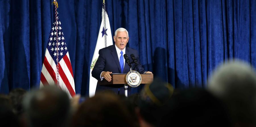 El arribo del vicepresidente de Estados Unidos a Puerto Rico se prevé ahora para cerca de las 3:30 p.m. (horizontal-x3)