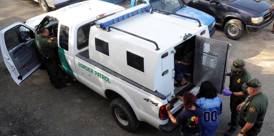 Agentes de la Patrulla Fronteriza en la isla continúan realizando las detenciones comunes. (horizontal-x3)