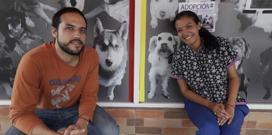 Miguel Méndez y Eiralin Ramos, venezolanos asilados en Mèxico