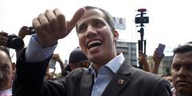 Guaidó sale en caravana hacia la frontera con Colombia por ayuda humanitaria