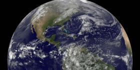 Así verían los extraterrestres el planeta Tierra a años luz de distancia