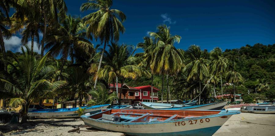 Playa en Bahía Maracas, Trinidad