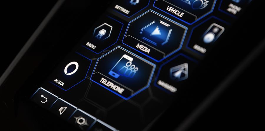 La integración de Alexa también conecta a los propietarios de Lamborghini con el creciente número de dispositivos conectados que funcionan con Alexa. (Suministrada)