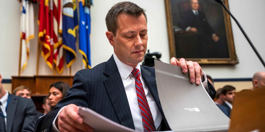 El funcionario participó también en las pesquisas sobre el uso del correo electrónico de Hillary Clinton y en el inició de la investigación de la trama rusa (horizontal-x3)