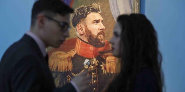 Las estrellas del Mundial son protagonistas en un museo ruso