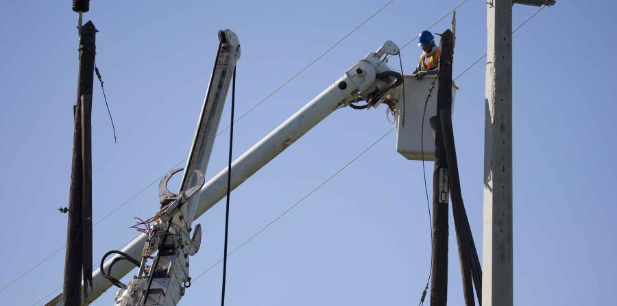 Según la corporación pública, los postes ya no son un problema en cuanto a la cantidad de materiales necesarios para restablecer el servicio eléctrico. (GFR Media) (horizontal-x3)