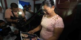 Madre de migrante ahogado con su hija dice que la foto de los cuerpos es dura y tierna