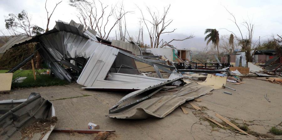 El gobierno estimó en 64 las muertes asociadas al huracán María. (GFR Media) (horizontal-x3)
