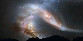Un estudio revela que la Vía Láctea devoró una galaxia más pequeña