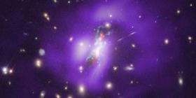 La NASA detecta un agujero negro debilitado en el que nacen nuevas estrellas