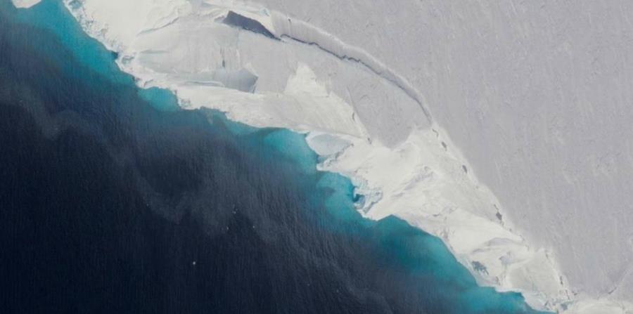 El glaciar Thwaites es responsable de casi cuatro por ciento del aumento del nivel del mar (horizontal-x3)
