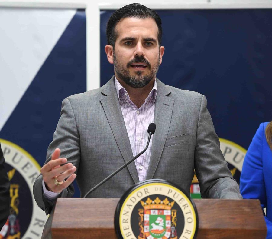 El gobernador Ricardo Rosselló. (semisquare-x3)