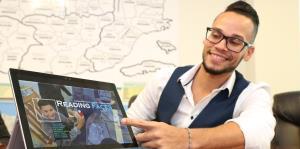 Un proyecto innovador lleva a un maestro boricua a Suiza