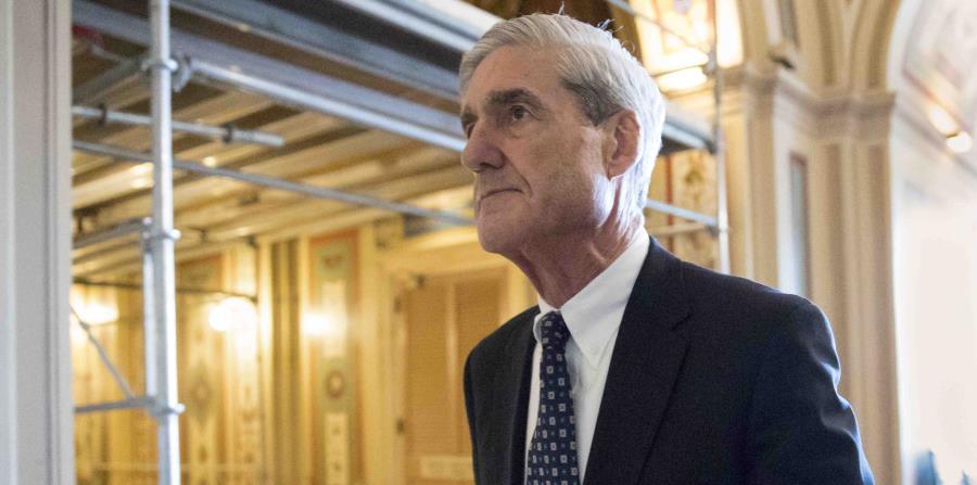 Fotografía de archivo del 21 de junio de 2017 del fiscal especial Robert Mueller después de una reunión en el Capitolio en Washington (horizontal-x3)