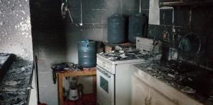 Así quedó el apartamento del estudiante boricua herido en México tras la explosión