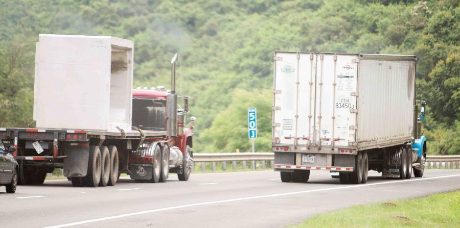 Los líderes de la industria se han quejado de una escasez de conductores de camiones durante algún tiempo (horizontal-x3)