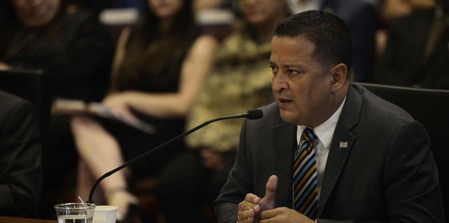 Henry Escalera durante las vistas de nombramiento que se realizaron este mes en el Senado. (horizontal-x3)