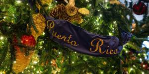 Puerto Rico ocupa un lugar en el árbol de Navidad de Donald Trump