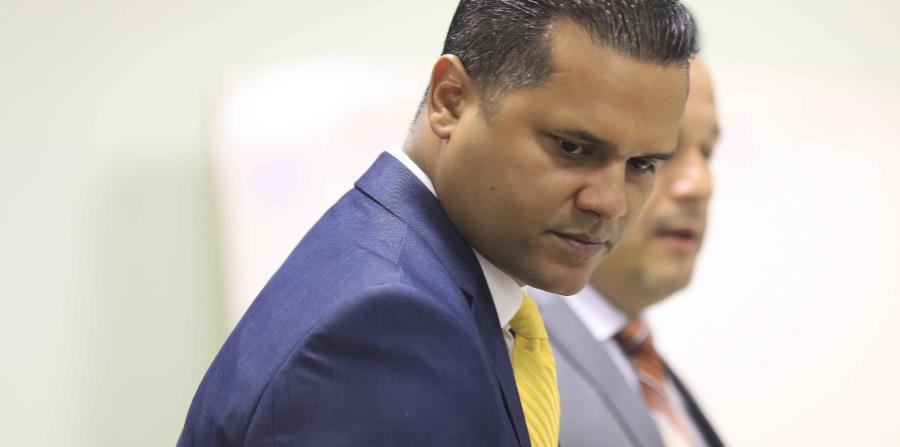 Ramón Rodríguez Ruiz durante la vista de hoy en el tribunal.