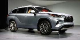 Con más potencia y espacio la nueva Toyota Highlander