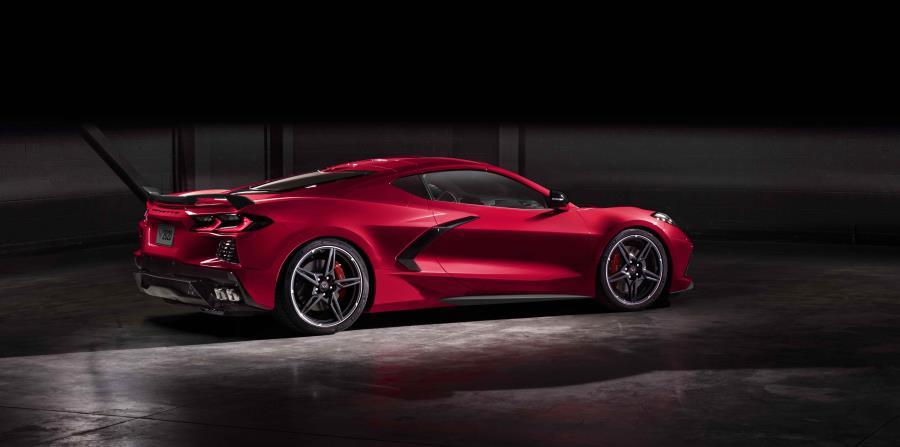 El Chevrolet Corvette Stingray 2020 se beneficia de la nueva plataforma digital de vehículos de GM, una arquitectura electrónica completamente nueva que permite la adopción de la próxima generación de tecnologías de la compañía. (Suministrada)