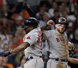 Los Medias Rojas sacan partido de cada chance ante los Astros