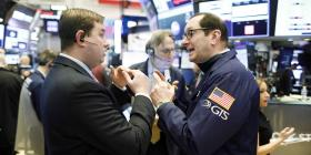 Wall Street se dispara y Dow Jones gana 7.7%