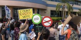 Tres contiendas electorales en Florida irán a recuento