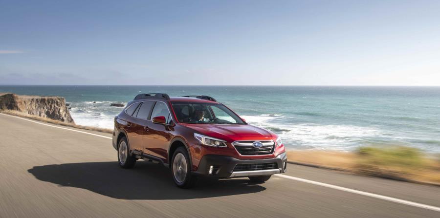 Así será el modelo 2020 del Subaru Outback que llegará a Puerto Rico a finales de este año. (Suministrada)