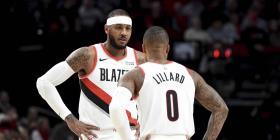 Los Blazers dan un contrato garantizado a Carmelo Anthony