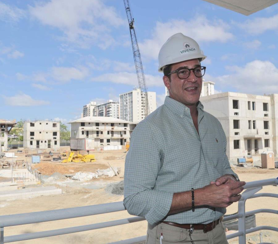 Fernando Gil Enseñat, Puerto Rico's Housing Secretary,. (semisquare-x3)