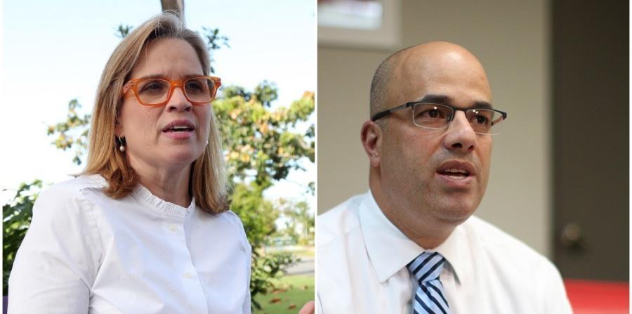 La alcaldesa de San Juan, Carmen Yulín Cruz Soto, indicó que propondrá la salida de Héctor Ferrer de la presidencia del PPD durante la reunión de la Junta de Gobierno de la colectividad. (GFR Media) (horizontal-x3)