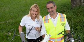 """Alza vuelo la industria de los """"drones"""" en la isla"""