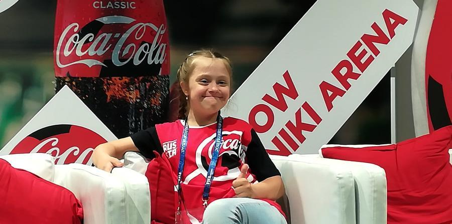 Angelina Makárova sonríe ante la presencia de la prensa. (EFE) (horizontal-x3)