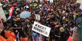 Twitter registró más de un millón de tuits con el hashtag #RickyRenuncia en julio