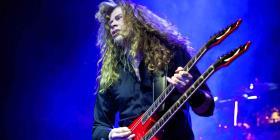 El cantante de Megadeth padece de cáncer de garganta