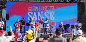 Celebran las Fiestas de la Calle San Sebastián en Orlando