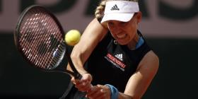Una adolescente derrota a Angelique Kerber del Abierto de Francia