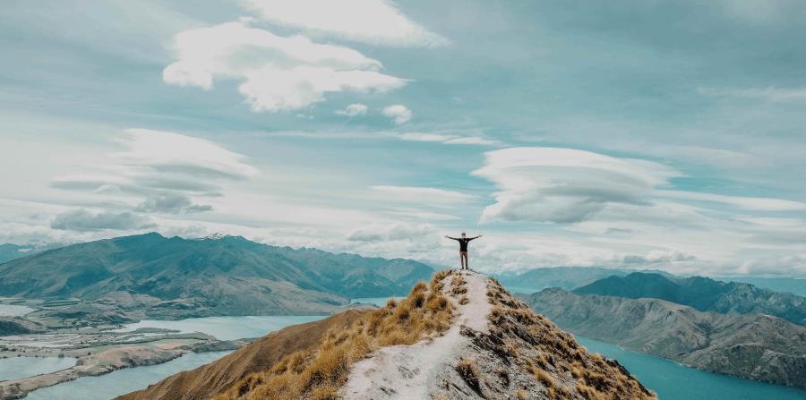 Pico Roy, Nueva Zelanda. (Unsplash)