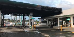 Investigan si una llamada por celular causó un incendio en una gasolinera de Bayamón