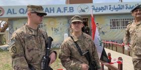 Tropas de Estados Unidos se retiran de una base al norte de Irak