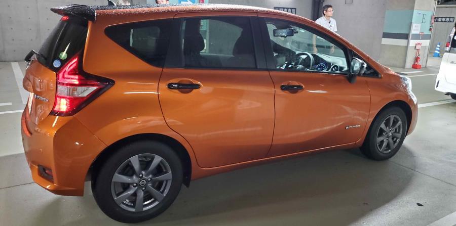 El Note es el modelo de más venta en Japón de la marca Nissan. (Francisco Javier Díaz)