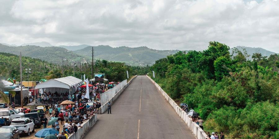 Cientos de personas dijeron presente a esta actividad en la antigua Base Roosevelt Roads, en Ceiba.