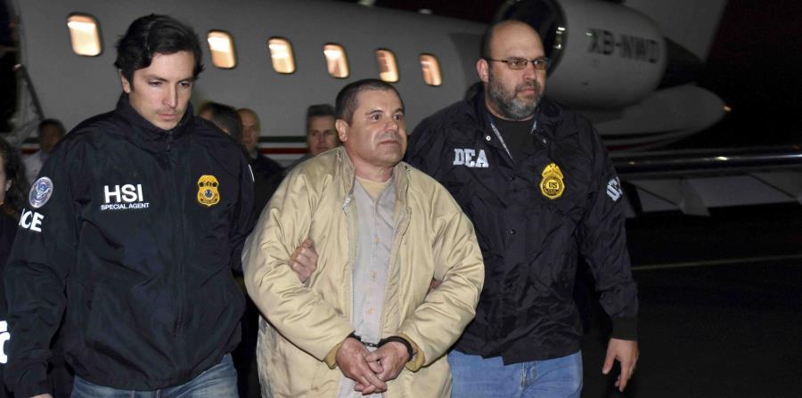 El juicio del Chapo se ve en Estados Unidos. (AP) (horizontal-x3)