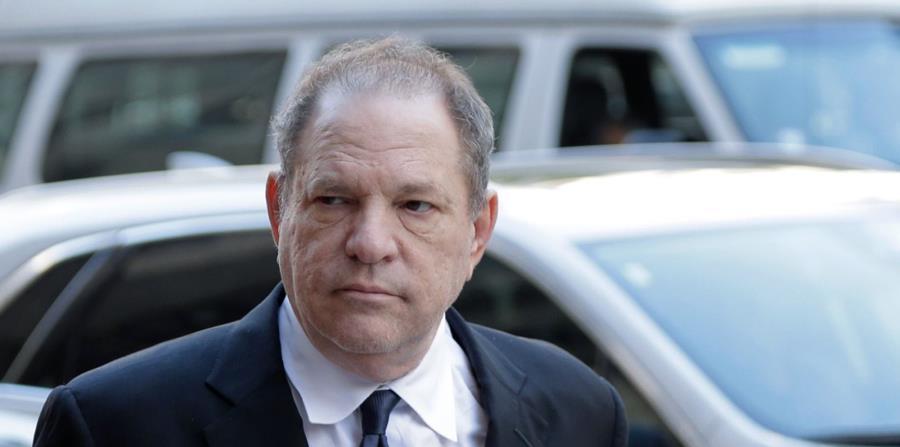 Harvey Weinstein a su llegada a corte en Nueva York. (AP) (horizontal-x3)