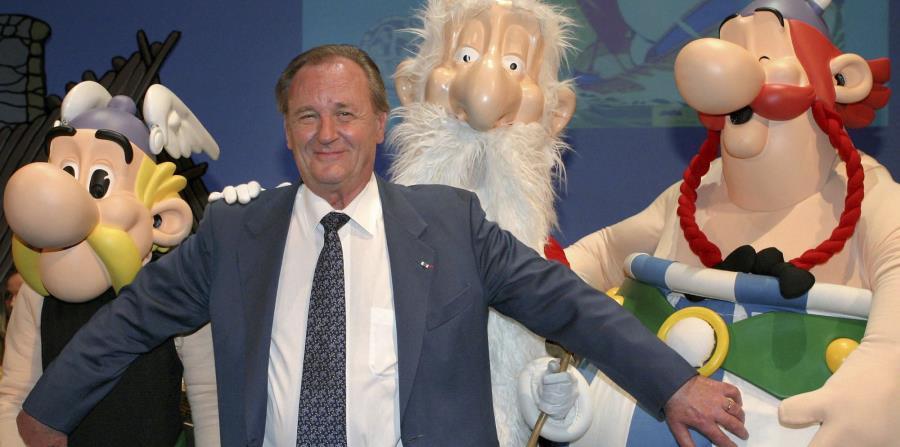 Muere Albert Uderzo, uno de los creadores del personaje Asterix